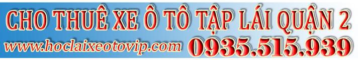 Thuê xe tập lái Quận 2