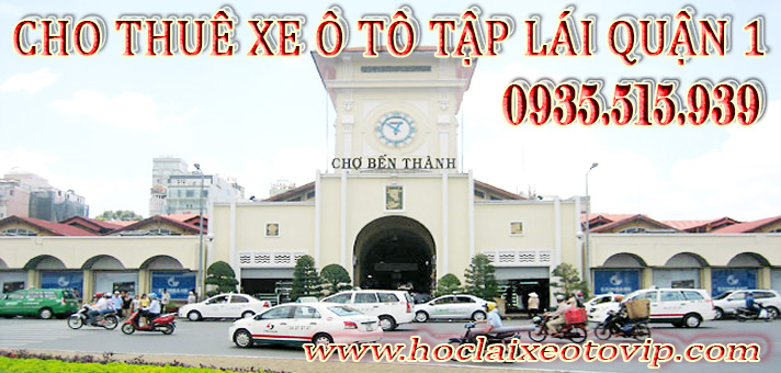 Thuê xe tập lái Quận 1