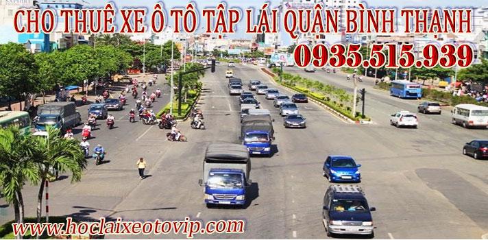 Cho thuê xe tập lái Quận Bình Thạnh