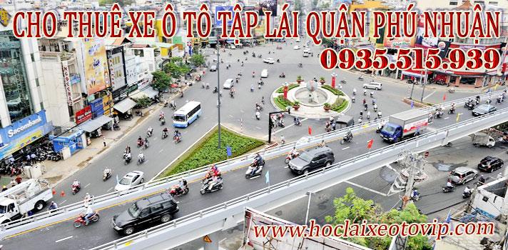 Cho thuê xe tập lái Quận Phú Nhuận