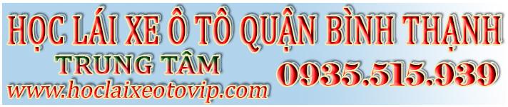 Học lái xe ô tô Quận Bình Thạnh