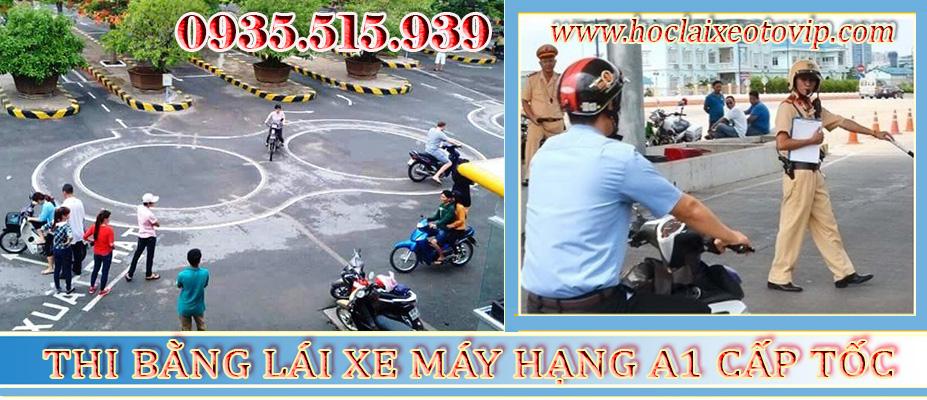 Thi bằng lái xe máy Quận Phú Nhuận