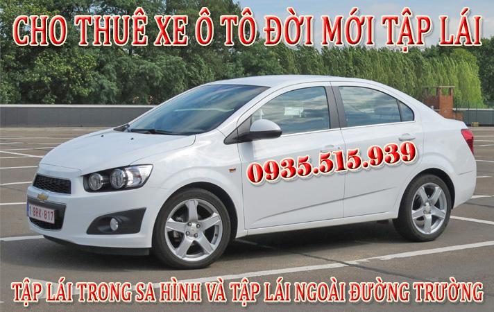 Thuê xe tập lái Quận Gò Vấp