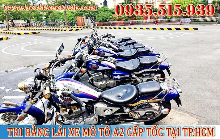 Học bằng lái xe mô tô