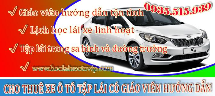 Cho thuê xe tập lái