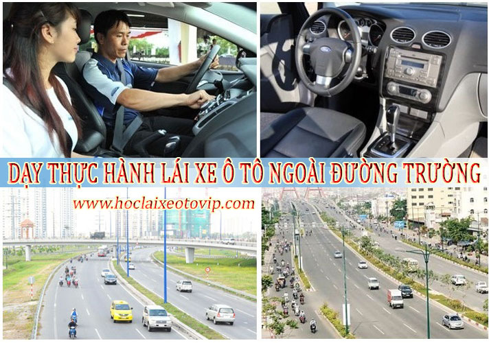 Dạy lái xe số tự động